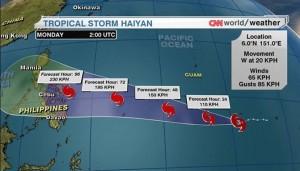 Super Typhoon Haiyan